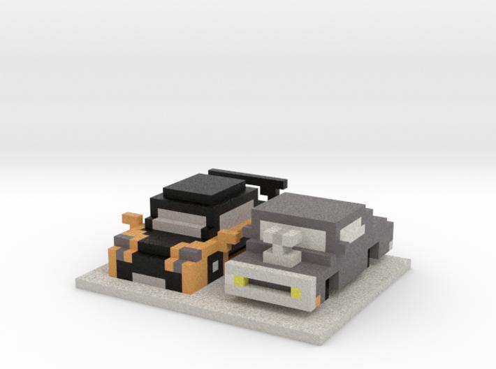 Tokyo Drift Cars  3d printed