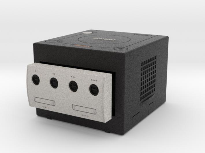 1:6 Nintendo Gamecube (Jet Black) 3d printed
