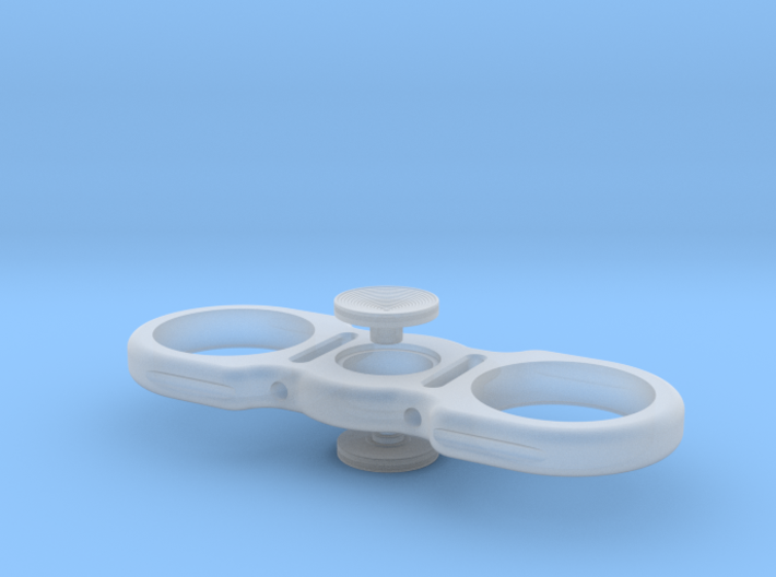 Dollar Spinner with Buttons 3d printed