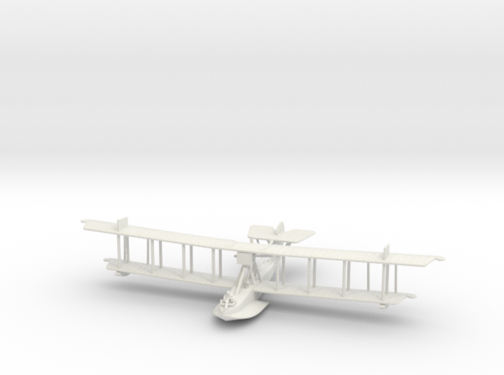 Curtiss HS-2L (various scales) 3d printed 1:144 Curtiss HS-2L in WSF