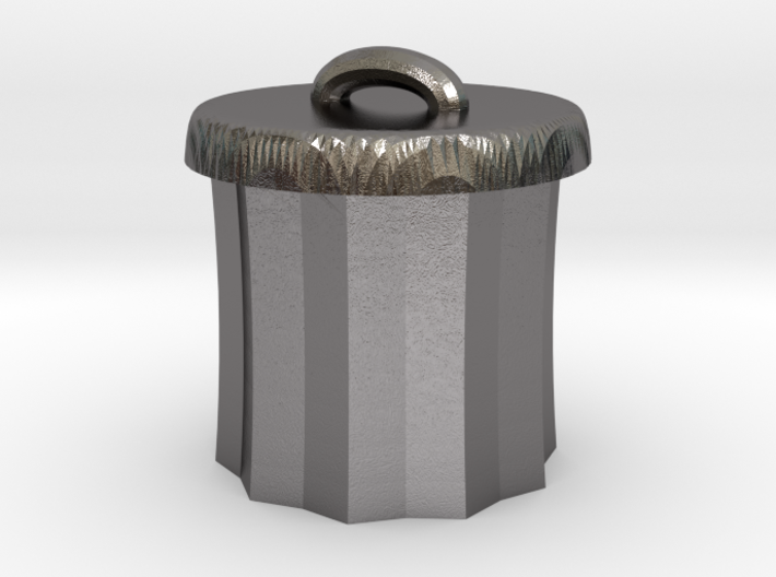 Power Grid Garbage Pails - One Pail 3d printed