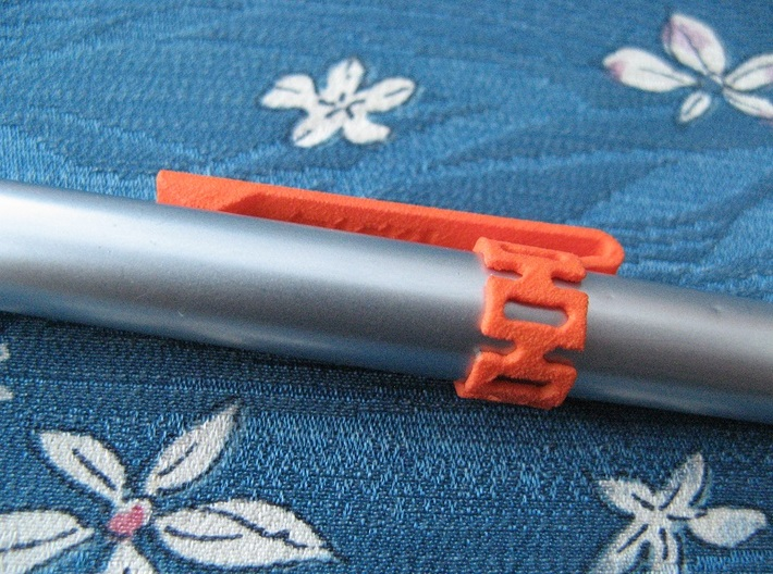 Pen Clip: for 14.5mm Diameter Body 3d printed (pen not included)
