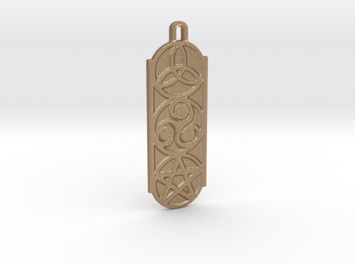 Symbols 2 by ~M. Keychain 3d printed
