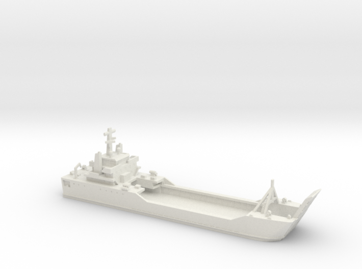1/700 Scale Besson Ramp Up 3d printed
