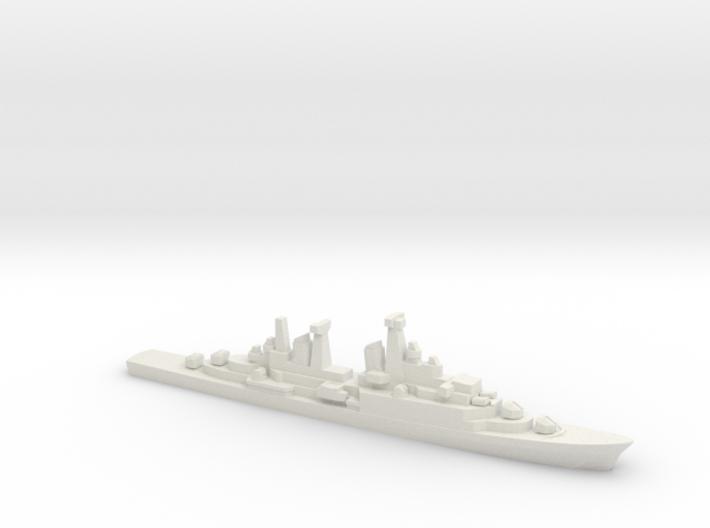 Hamburg-class destroyer, 1/1800 3d printed