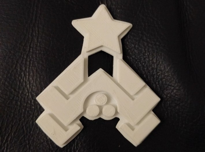 Nakatomi Badge 3d printed