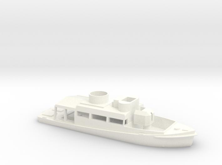 1/72 Scale Patrol Boat Water Line 3d printed