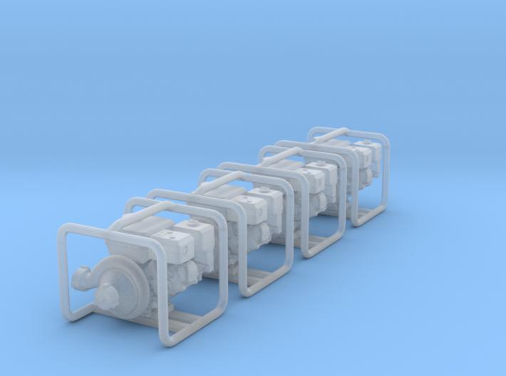 1-87 Capped Pump X2 3d printed