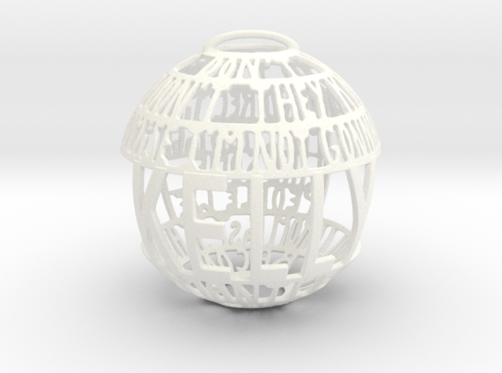 Kelly Quotaball 3d printed