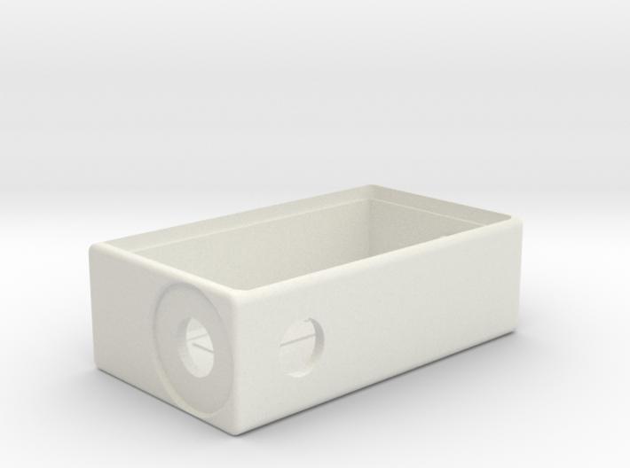 TalyMod Bottom Feeder Mechanical mod.(Round firebu 3d printed