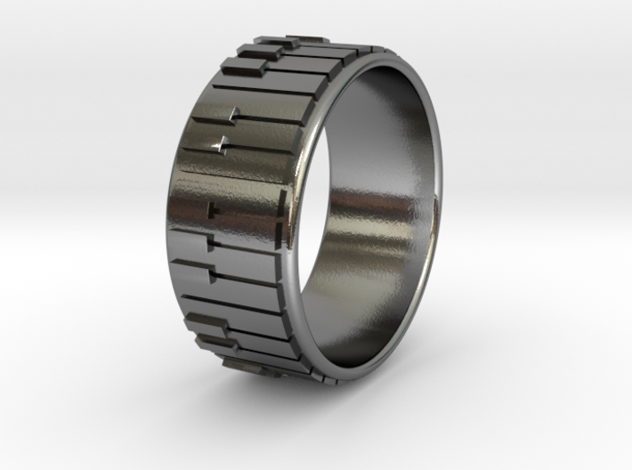 Piano Ring - US Size 12.5 3d printed
