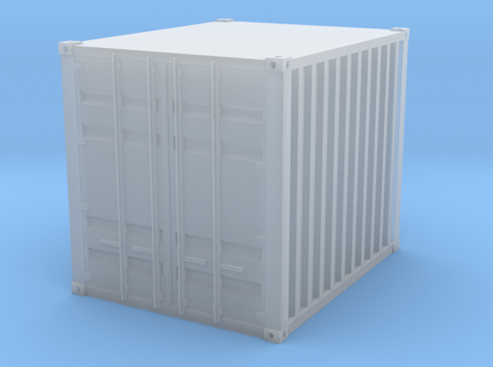 1:160 10 ft container Baucontainer 3d printed