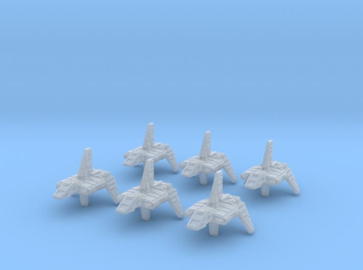 (Armada) 6x Sentinel Landing Craft 3d printed