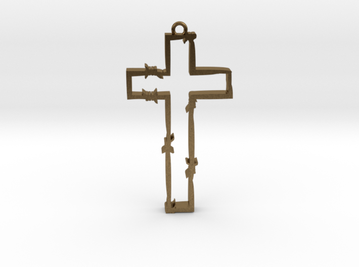 persecuted cross 3d printed
