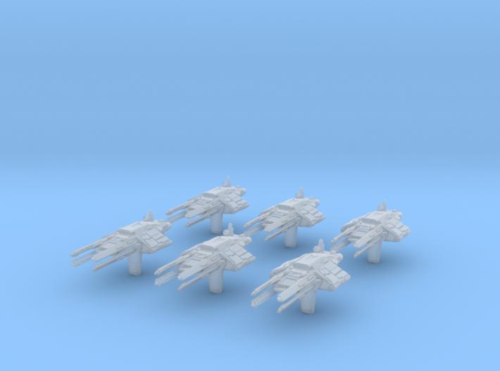 (Armada) 6x AEG-77 Vigo 3d printed