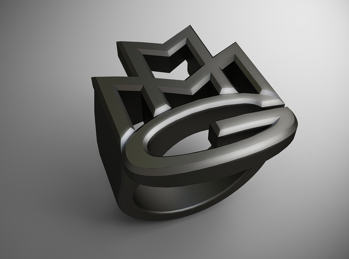 Maybach Music Group Ring 3d printed
