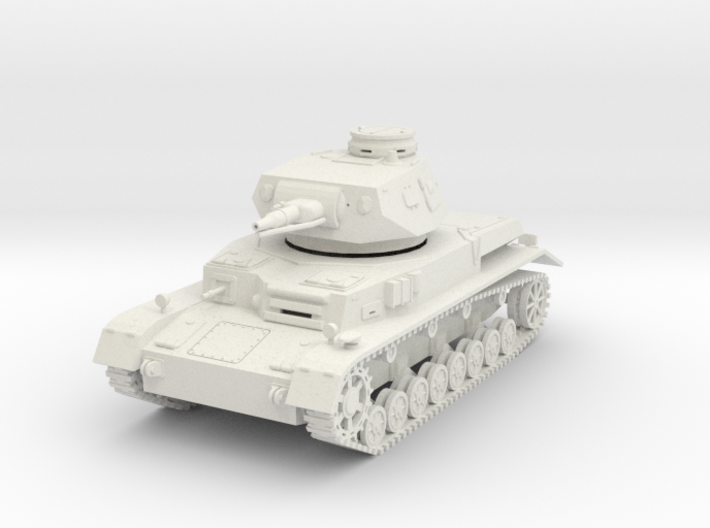 PV150A Pzkw IVD Medium Tank (28mm) 3d printed