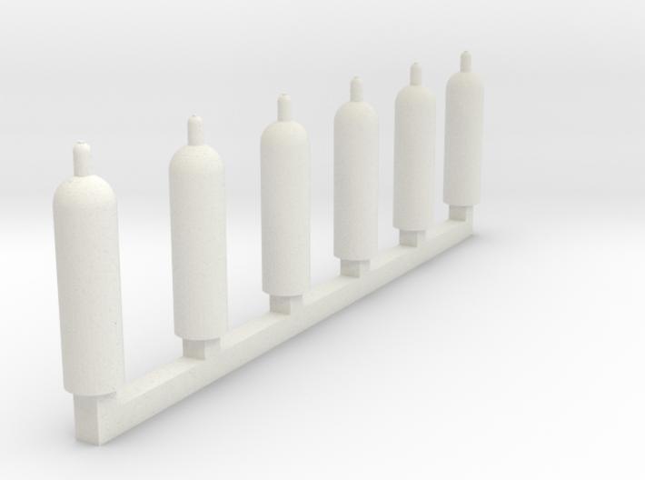 1:160 propane gasbottle Propan Gasflaschen 3d printed