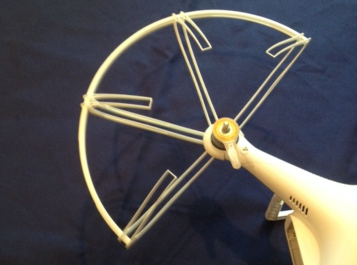Claw - Propeller Guard for DJI Phantom Drone 3d printed