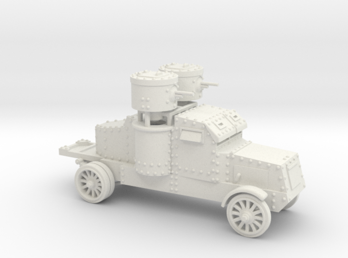 Peerless Armoured Car (15mm) 3d printed