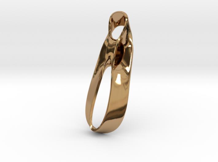 Triple Cube Brass 037 3d printed