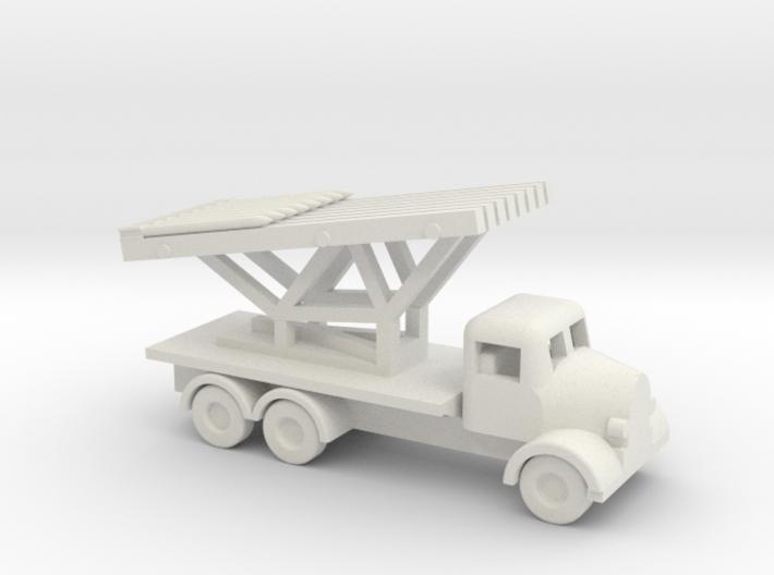 1/144 Scale Austin K6 Rocket Launcher 3d printed