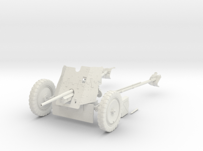 1:18 Pak 36 - 37mm German Anti-Tank Gun - v1 3d printed