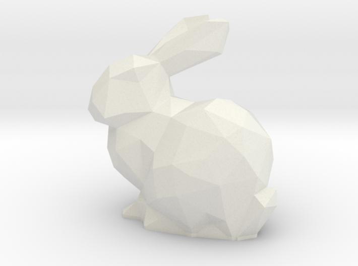 Bunny LowPoly LED Tea Light Holder 3d printed