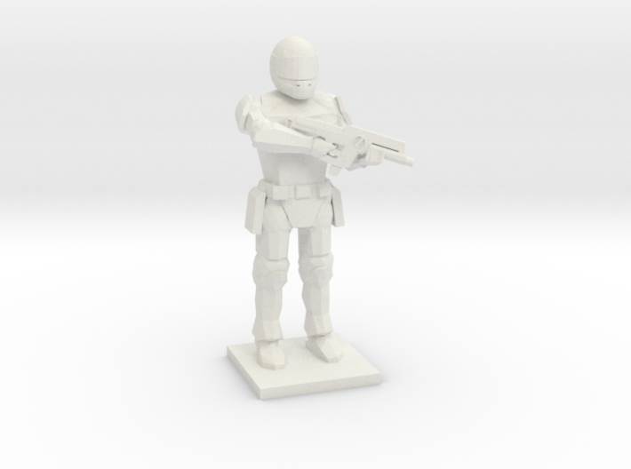 Peacekeeper (The Hunger Games Trilogy), 1/64 3d printed