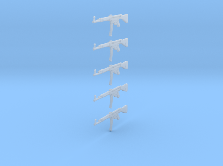 1/24 scale StG44 assault rifles 3d printed