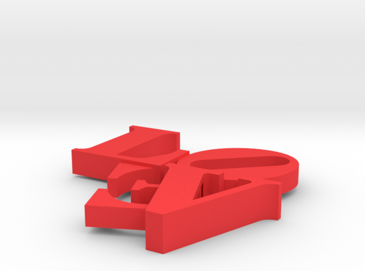 Love Sculpture Impossible 3d printed