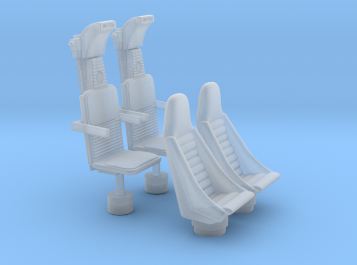 YT1300 5 FOOTER COCKPIT SEATS 3d printed