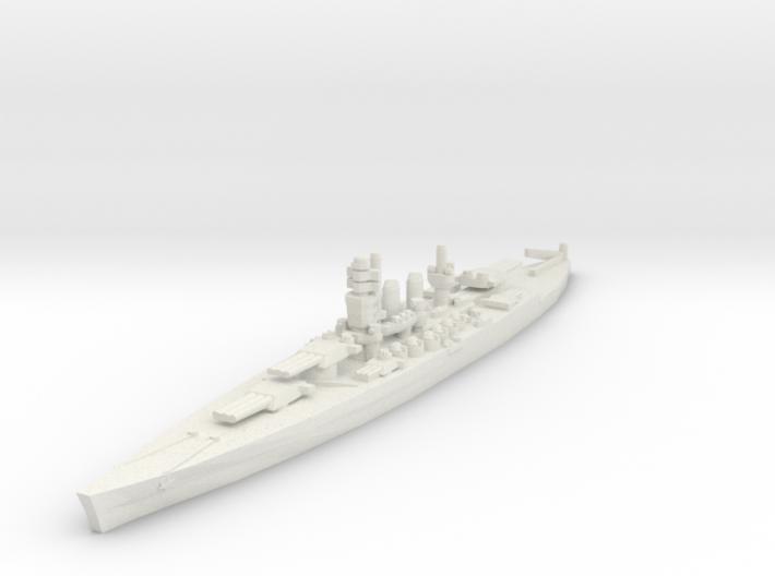 Littorio class battleship 1/2400 3d printed