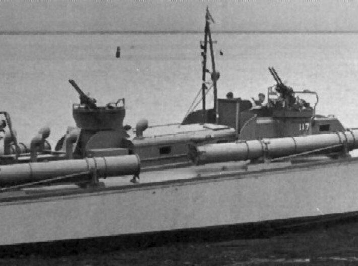 1/48 Torpedo Tube Turntables and Slides 3d printed