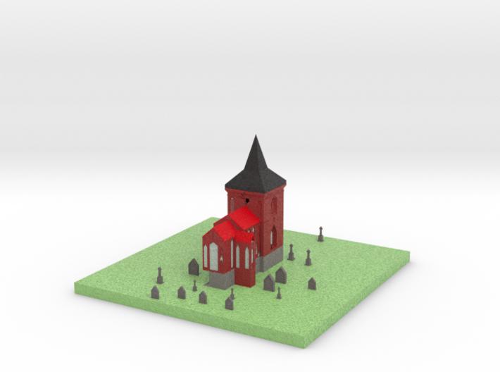 Church 3d printed