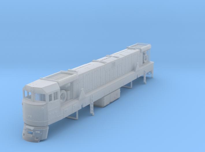 U50 Locomotive N scale 3d printed