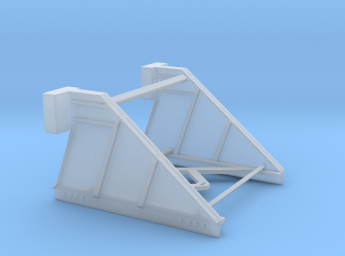 Moderne sporstopper 1/87 3d printed