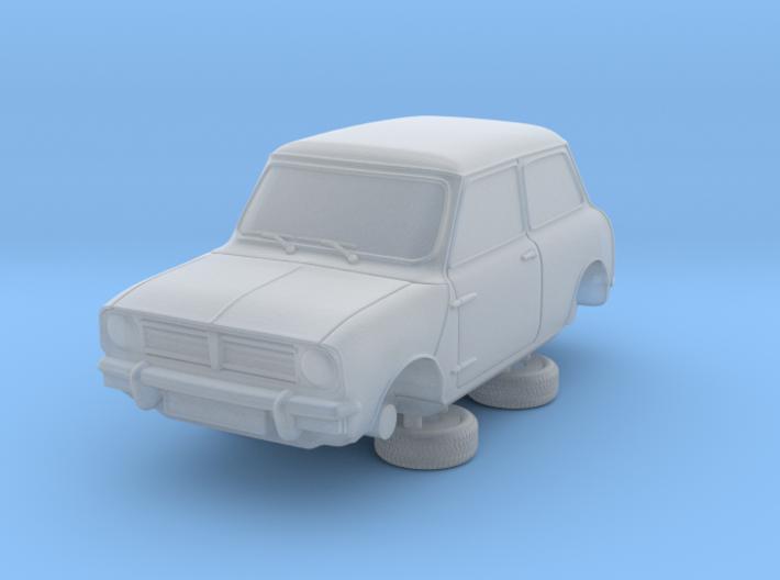 1-76 Austin 74 Saloon 3d printed