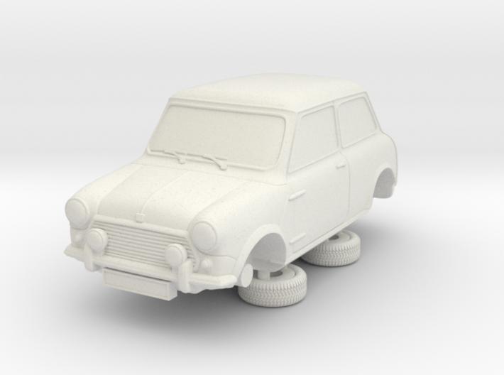 1-76 Austin Mini 92 Saloon 3d printed