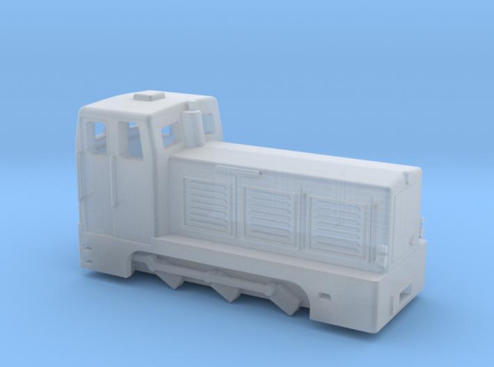 V10C mit Chassis für T-Räder 3d printed