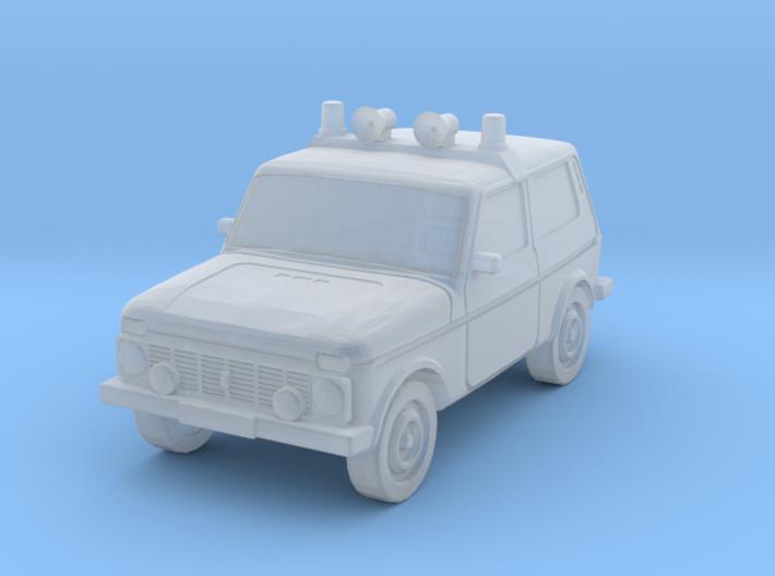 Lada Niva Polizei (Z, 1:220) 3d printed