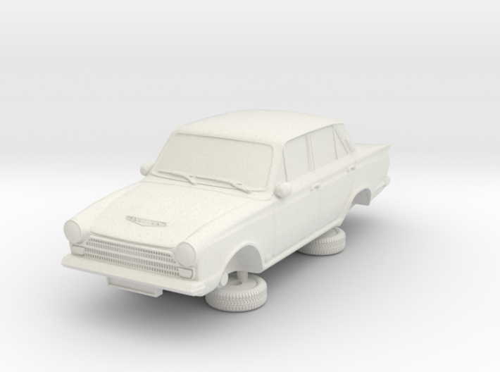 1-64 Ford Cortina Mk1 4 Door 3d printed