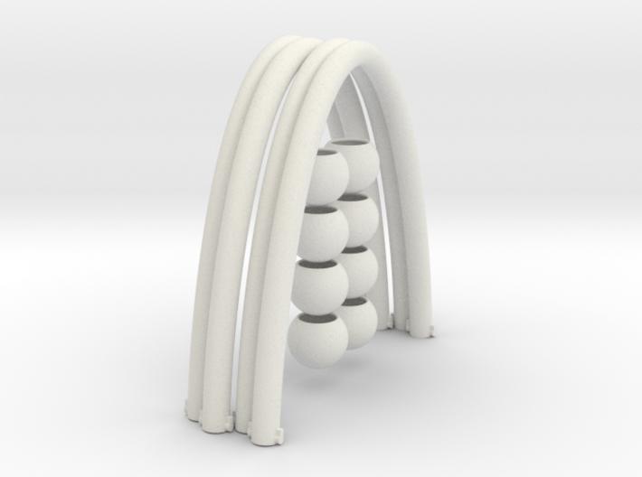 Wave (4-Pack) 3d printed