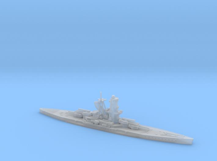 IJN Hiraga 1/2400 (Hiraga's Treaty Battleship Desi 3d printed