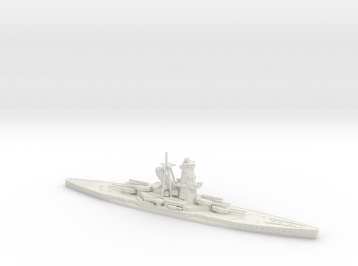 IJN Hiraga 1/1250 (Hiraga's Treaty Battleship Desi 3d printed