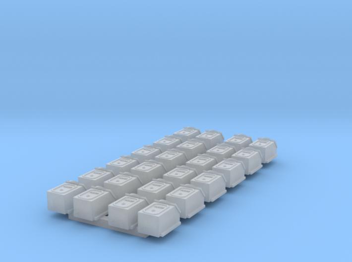 SECR D-type axlebox x24 3d printed