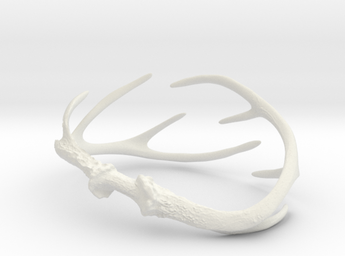 Antler Bracelet - Small (70mm) 3d printed