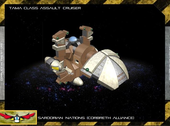 Tama Class Assault Cruiser - 1:20000 3d printed