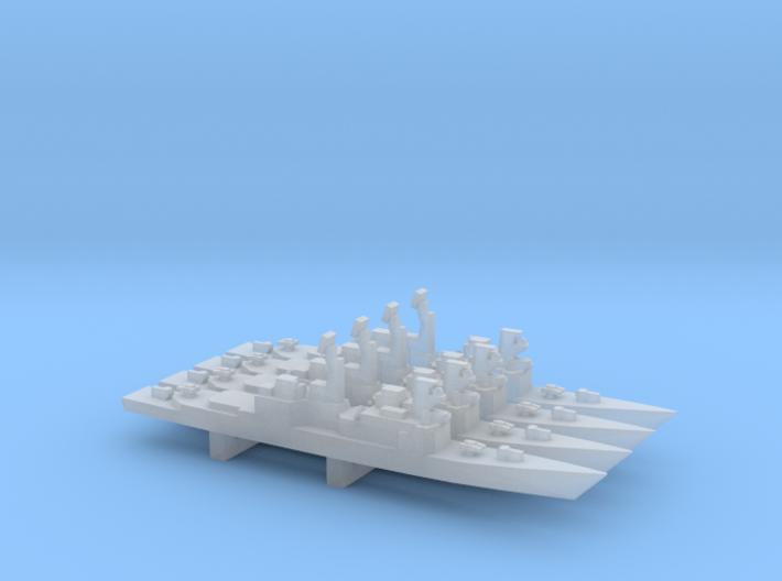 Kidd-class, 1/6000 3d printed