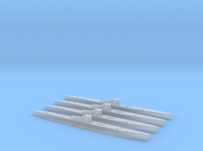 Type XIC/40 (1/2400) x4 3d printed